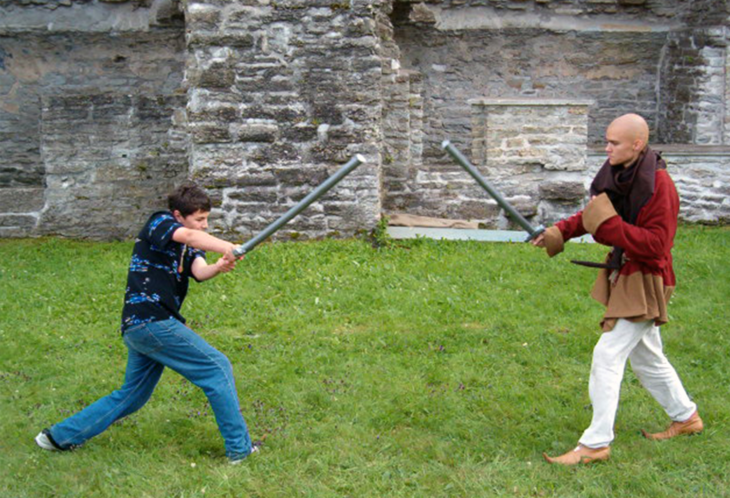 Sword fighting competitons for your guests